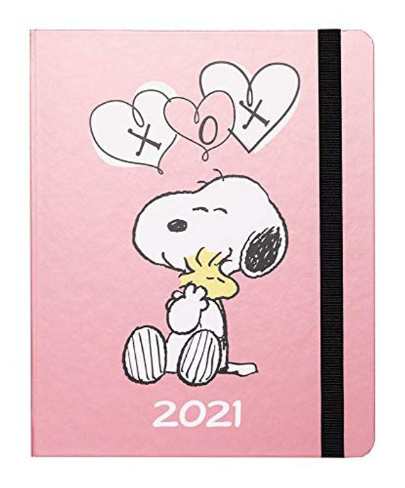 Snoopy Premium Academic Diary 2021 Week to View, mid Year Diary