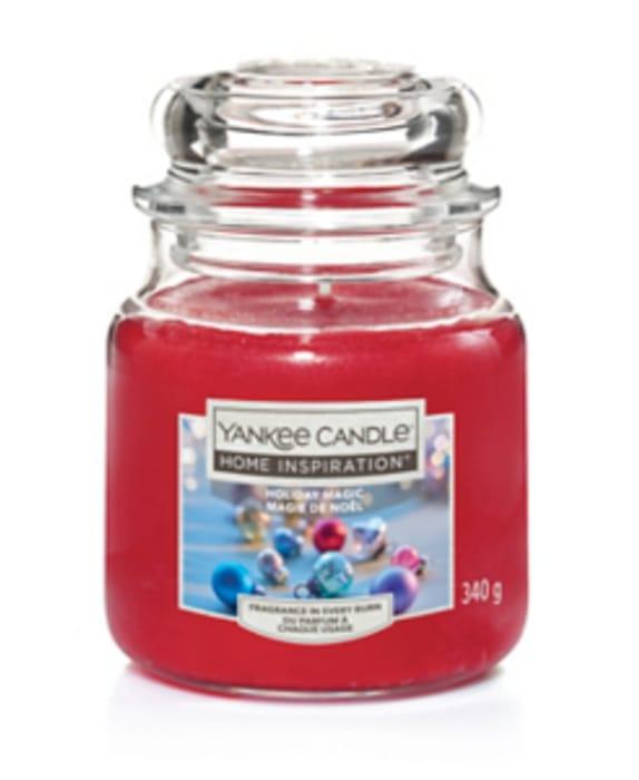 Yankee Candle Holiday Magic Medium Jar