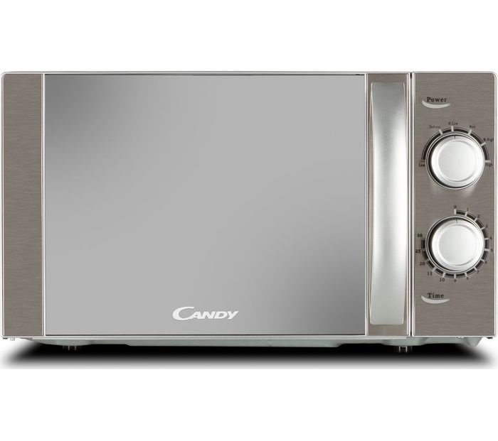 *SAVE £5* CANDY 20Ltr Compact Solo Microwave - Silver