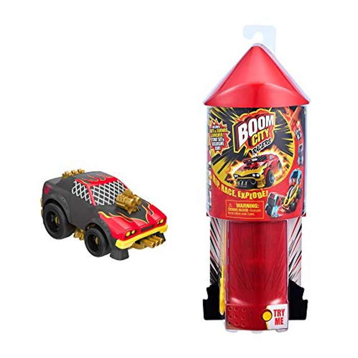 Boom City Racers Starter Pack - Stunt Set with Launcher
