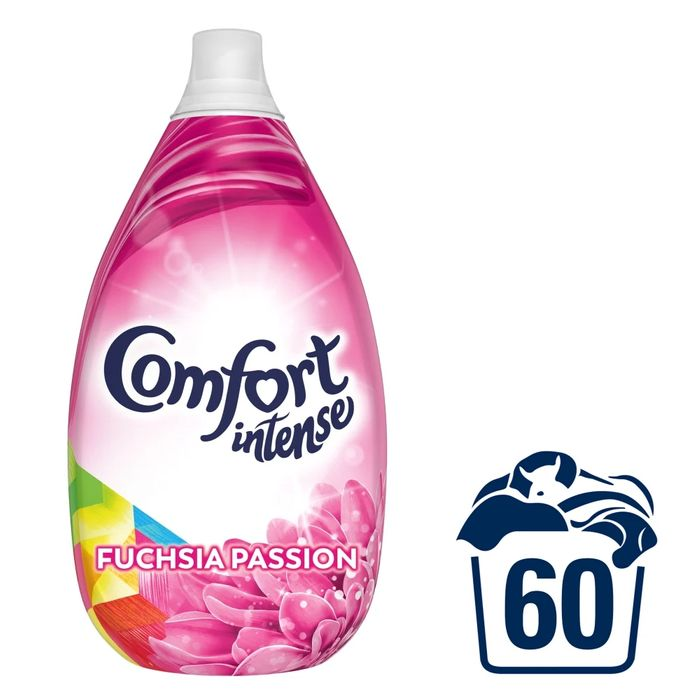 Comfort Intense Fuchsia Passion Fabric Conditioner 60 Washes 900ml