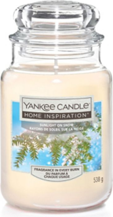 Yankee Candle Sunlight on Snow Large Jar Candle