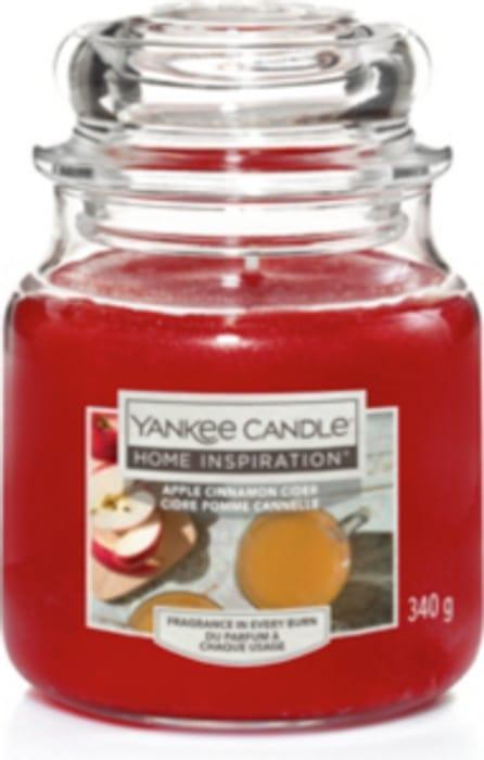 Cheap Yankee Candle Apple Cinnamon Cider Medium Jar - Save £3.47!