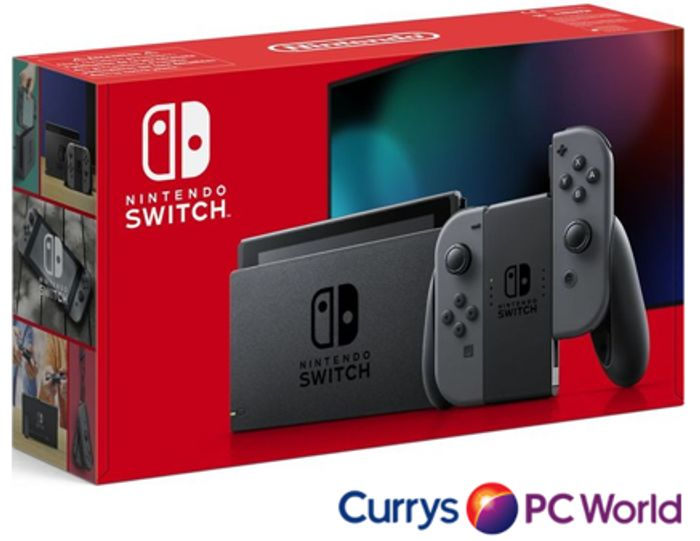 NINTENDO Switch Console - Grey - COLLECT FROM STORE