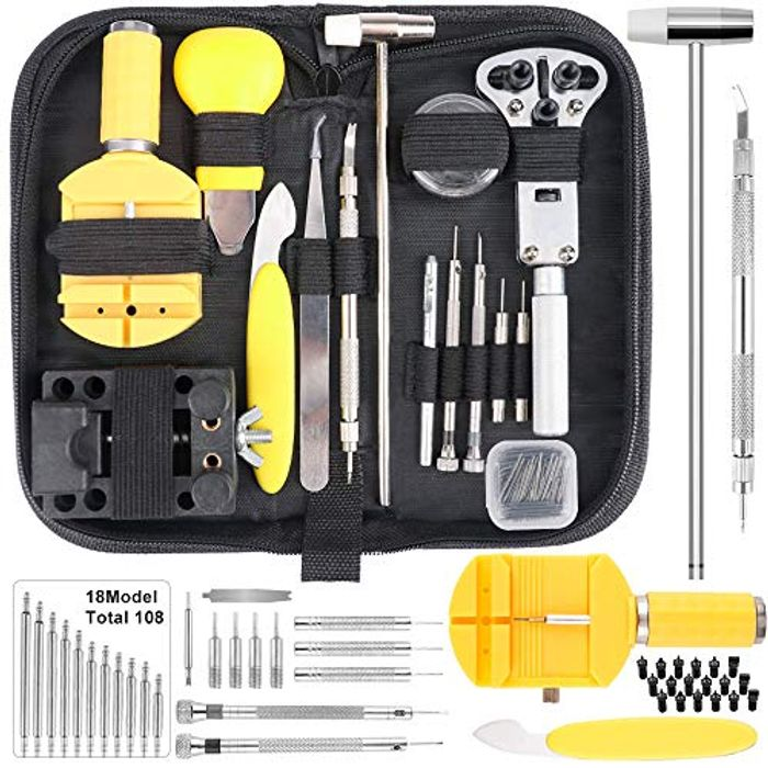 147pc Watch Repair Kit with Case