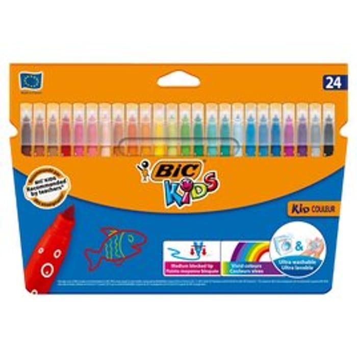 CHEAP! Bic Kids Felt Tip Pens - 24 Pack