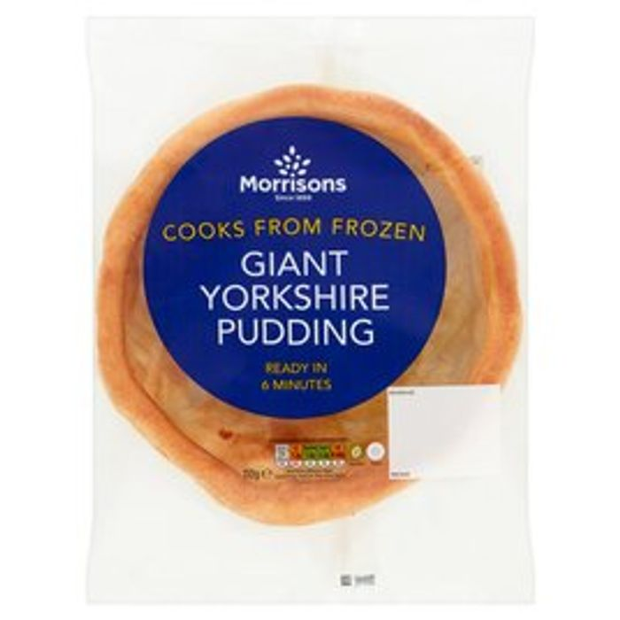 4 for £1.50 - Morrisons Giant Yorkshire Pudding 110g