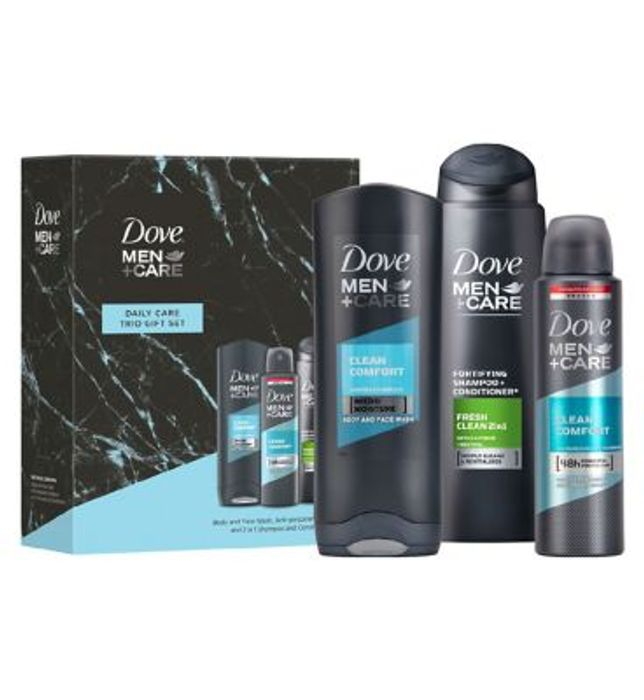 Dove Men+Care Daily Care Trio Gift Set , Only £4.50