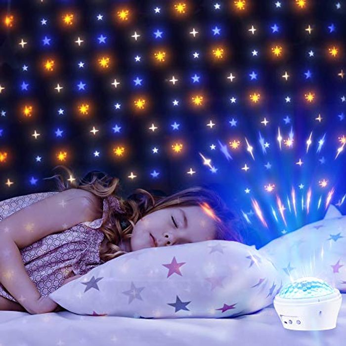 Deal Stack! LED Star Night Projector Lamp