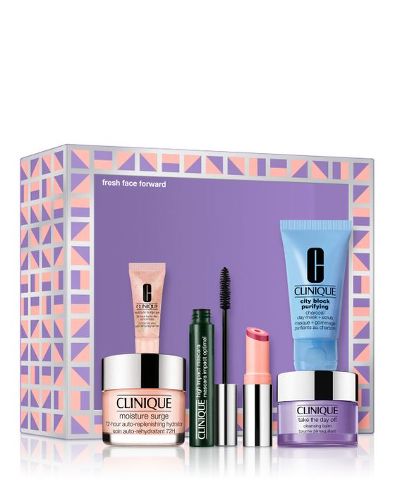 Cheap Clinique Fresh Face Forward Gift Set reduced by £43!