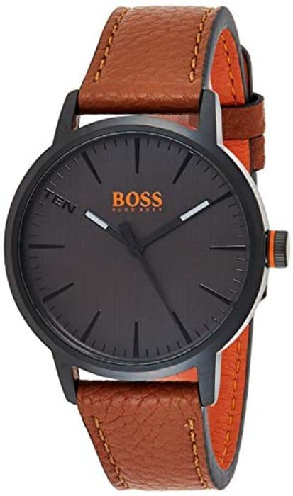 LESS than HALF PRICE Hugo Boss Orange Men's Analogue Classic Quartz Watch