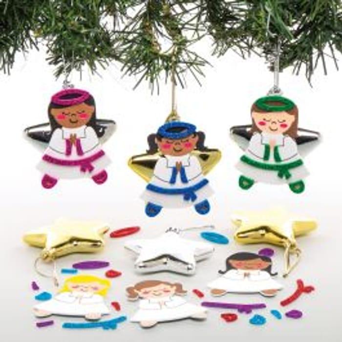 Angel Star Bauble Kits