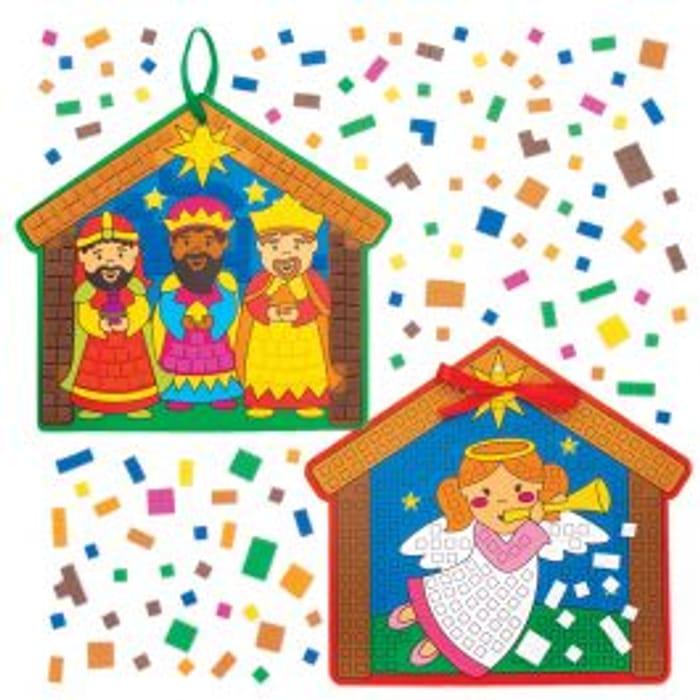Nativity Mosaic Decoration Kits