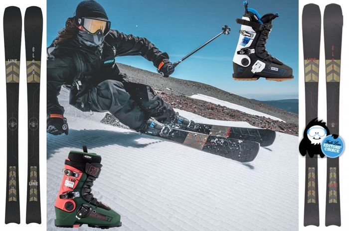 Win Line Blade Skis plus Full Tilt Boots worth £985