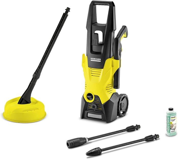*SAVE £76* Karcher K3 Home Pressure Washer, 1600 W, 240 V, Yellow/Black