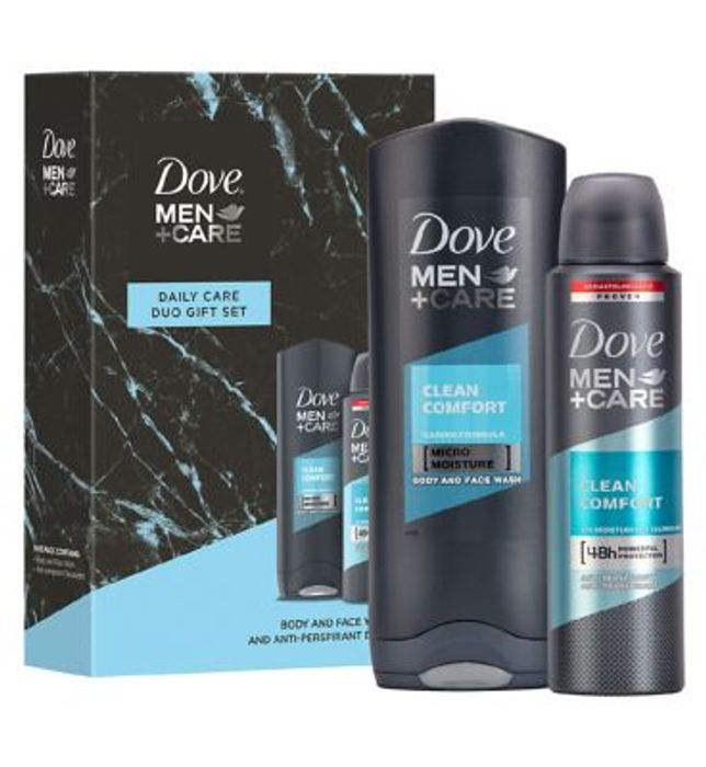 Dove Men+Care Daily Care Duo Gift Set ,1/2 Price ,Only £3