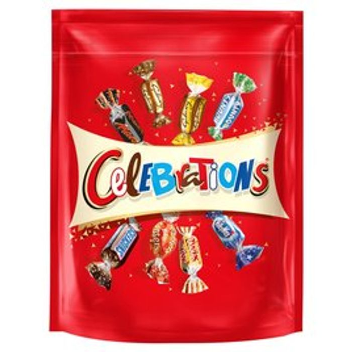 Celebrations 400g/CadburyHeroes 357/Quality Street450g/Terry Orange 400g All