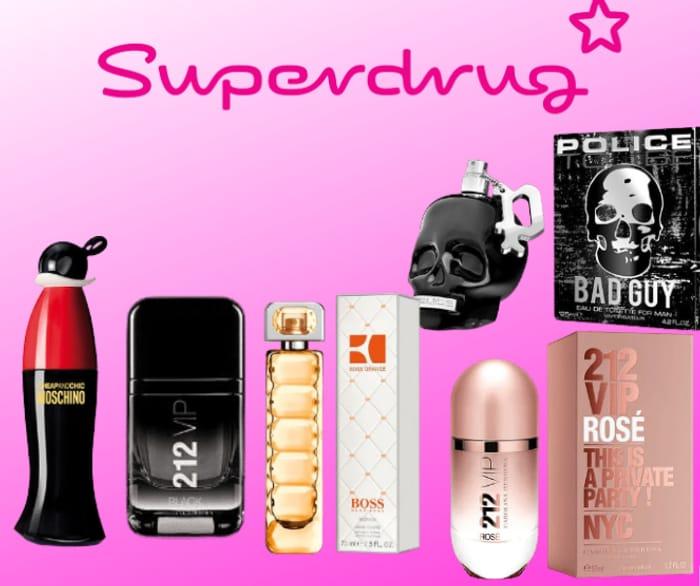 Superdrug - 140+ Item Fragrance Sale up to 60% Off!