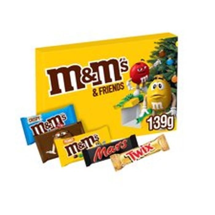 M&Ms & Friends Peanut Chocolate Medium Selection Box 139G