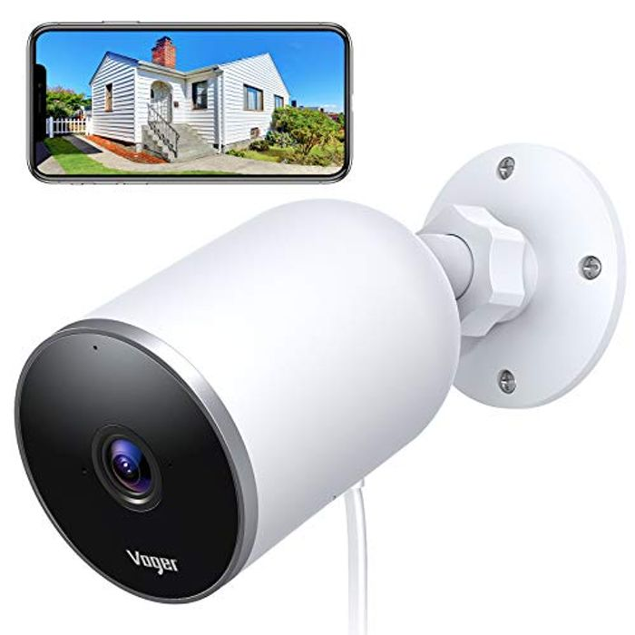 Save 50%- Voger Outdoor Security Camera, 1080P WiFi