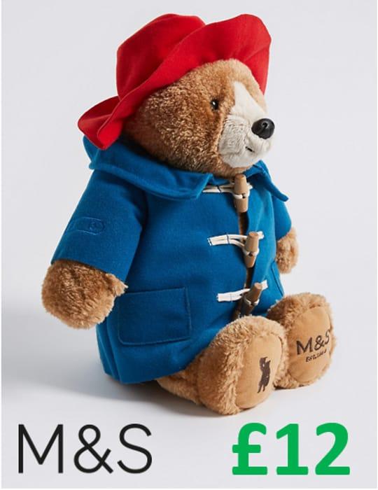 M&S - Paddington Bear Plush Toy (33cm)