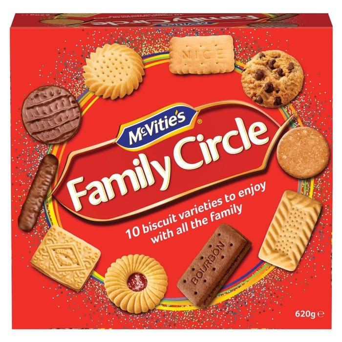 Mcvitie's Family Circle - 620g