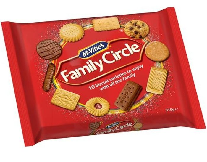 Mcvitie's Family Circle Biscuits 310G - Clubcard Price