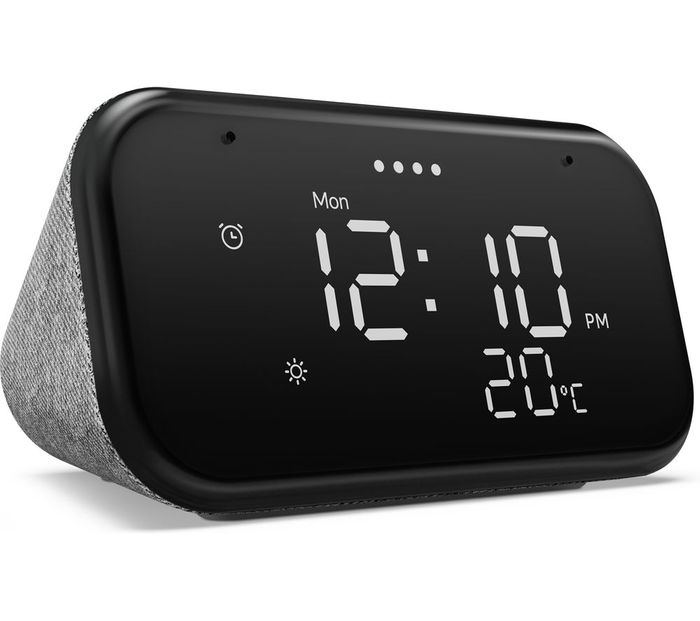 Black Friday Price - Lenovo Smart Clock Essential with Google Assistant