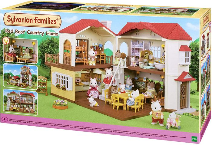 SAVE £15 - Sylvanian Families Red Roof Country Home