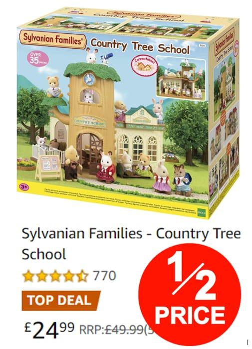 Sylvanian Families - Country Tree School **4.7 STARS**