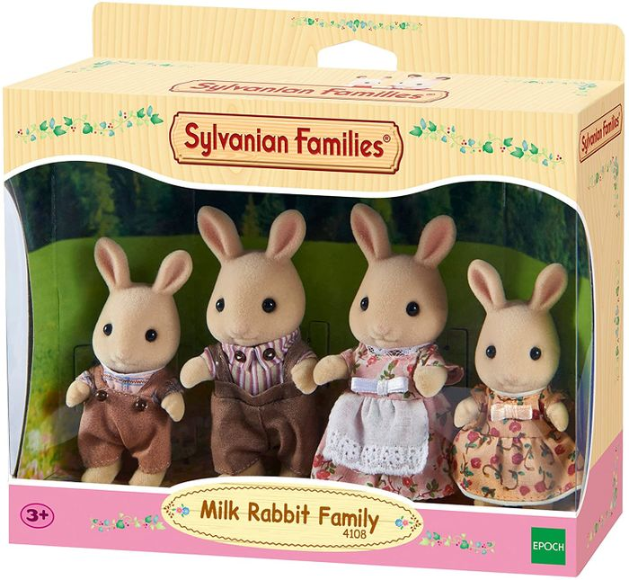 Sylvanian Families - Milk Rabbit Family