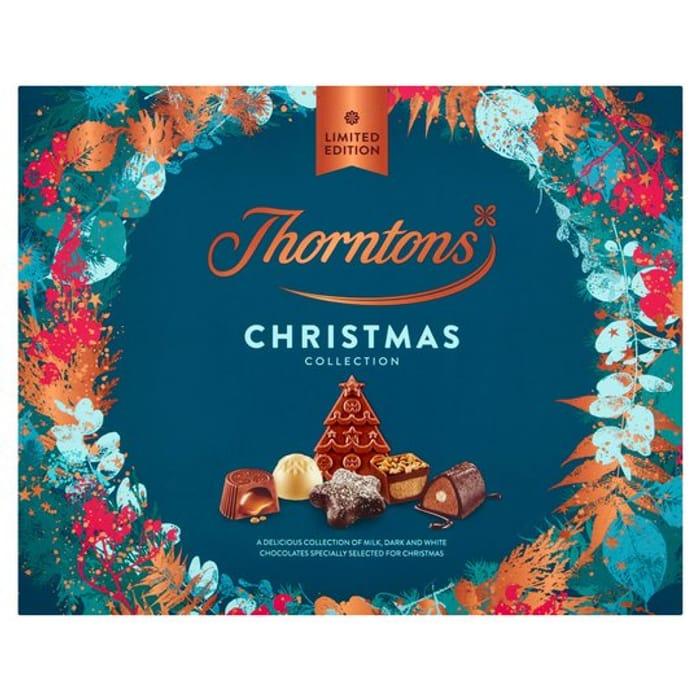 Thorntons Christmas Chocolate Collection Box - HALF PRICE