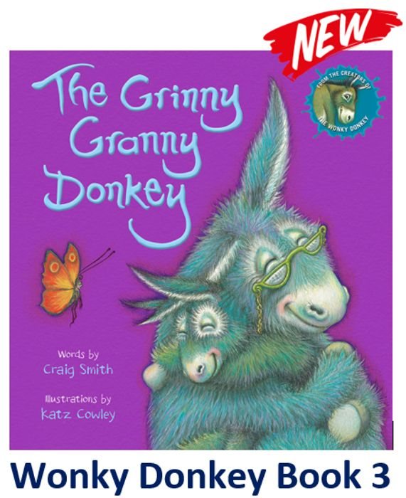 New! The Grinny Granny Donkey (Book 3)