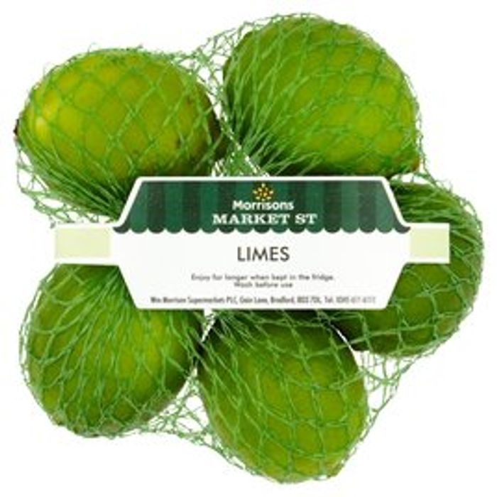 Morrisons Bumper Limes 5 per Pack - Only 0.59!