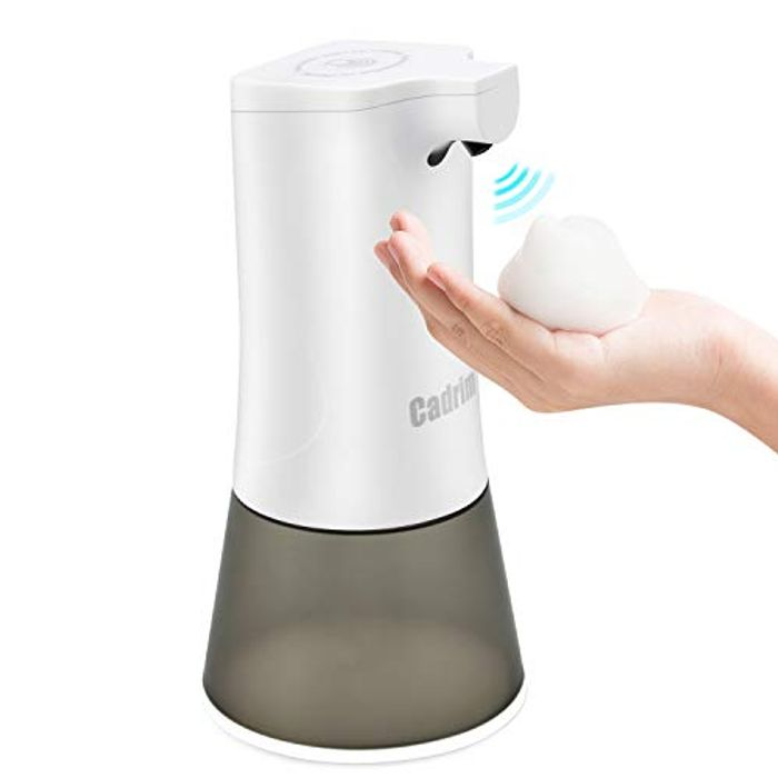 Cadrium Automatic Liquid Soap Dispenser - £11.19 at Amazon