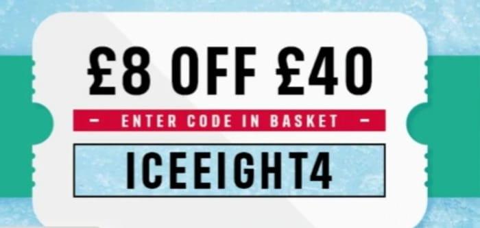 £8 off £40 Shop at Iceland!