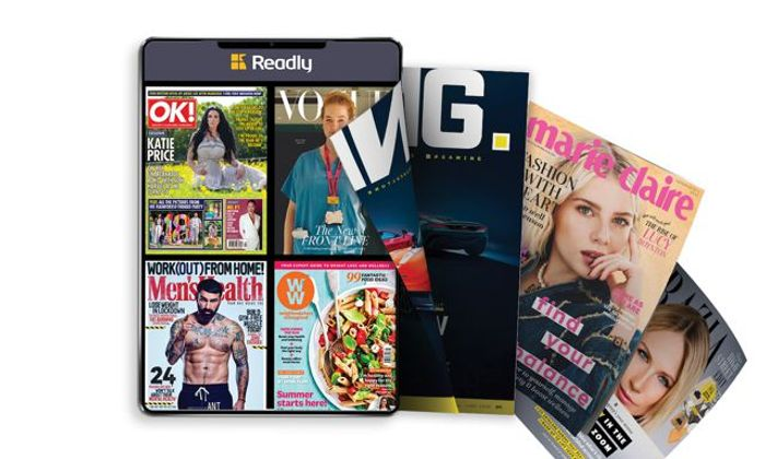 Two Months Unlimited Access to More than 5,000 Digital Magazines for Free
