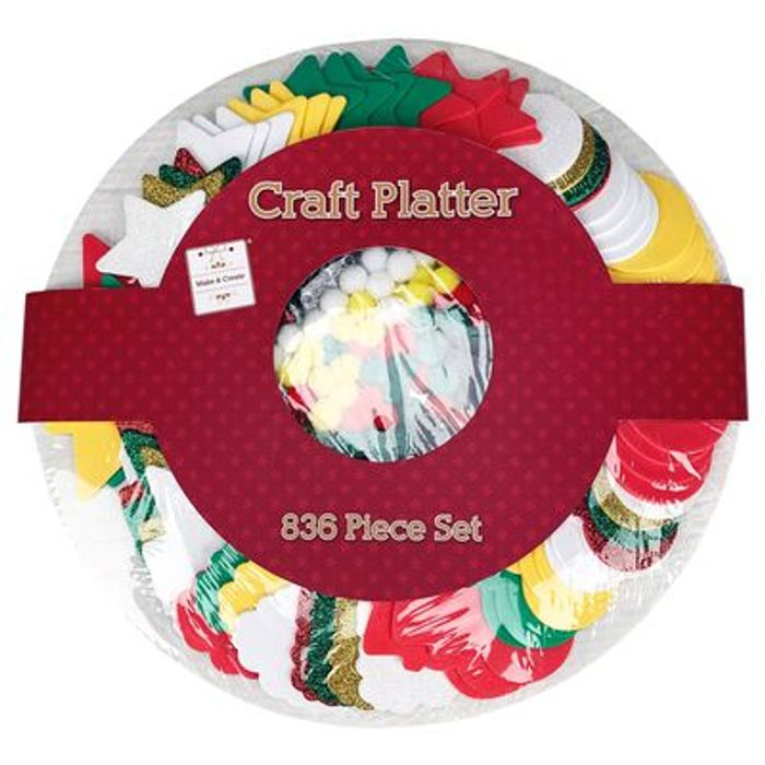 Craft Platter: 836 Pieces - Only £3!