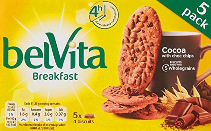 Belvita Breakfast Biscuits Cocoa with Choc Chips