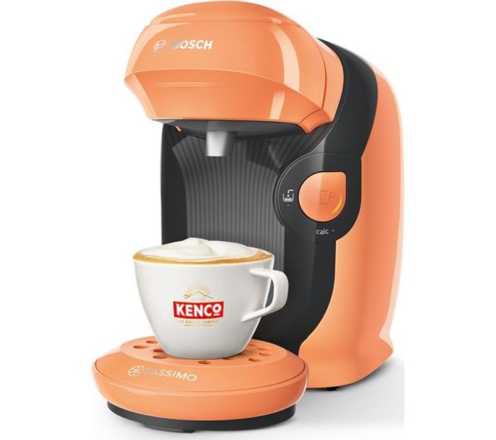Best Price! TASSIMO Bosch Style Coffee Machine 5 Colours *SAVE over £60*