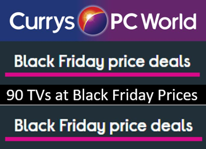 Special Offer - CURRYS - BLACK FRIDAY - 90+ TV DEALS
