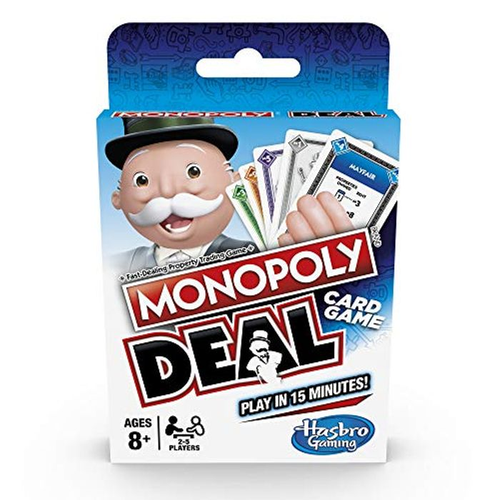 Monopoly Deal Card Game ***4.7 STARS*** Age 8+