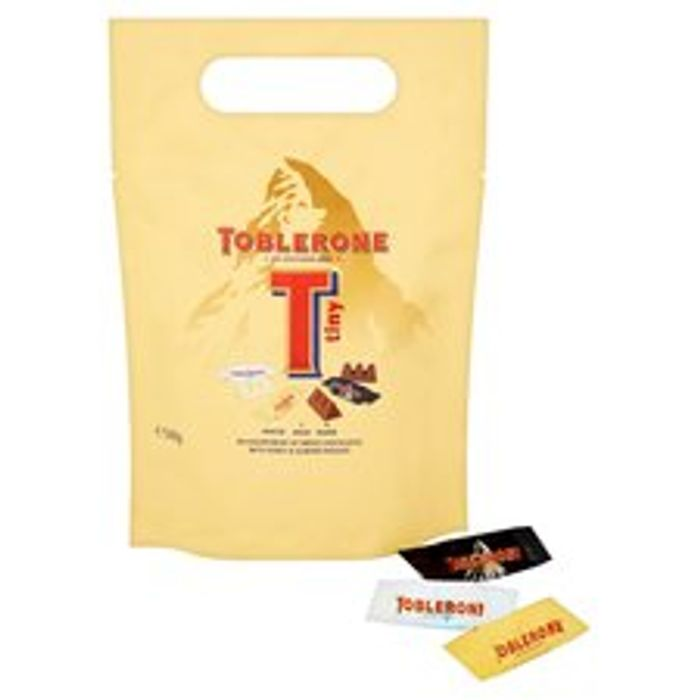 Toblerone Chocolate Pieces 340G/Terrys Chocolate Orange Sensations Pouch 400G
