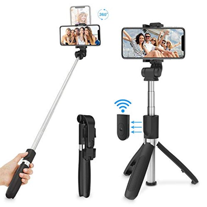 Selfie Stick Tripod - Only £7.64!
