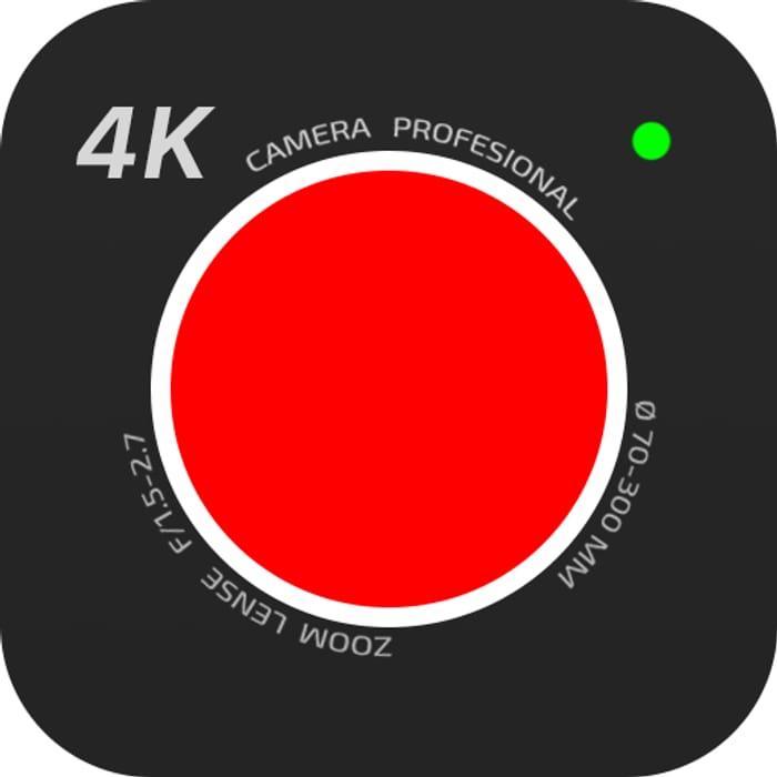 4K Camera - Filmmaker Pro - Usually £4.09