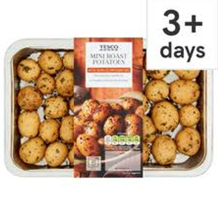 Tesco Mini Roast Potatoes 500G - Only £1.13!