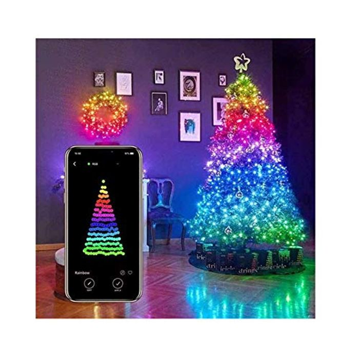 10m USB Mobile Bluetooth LED String Lights for Christmas Tree D