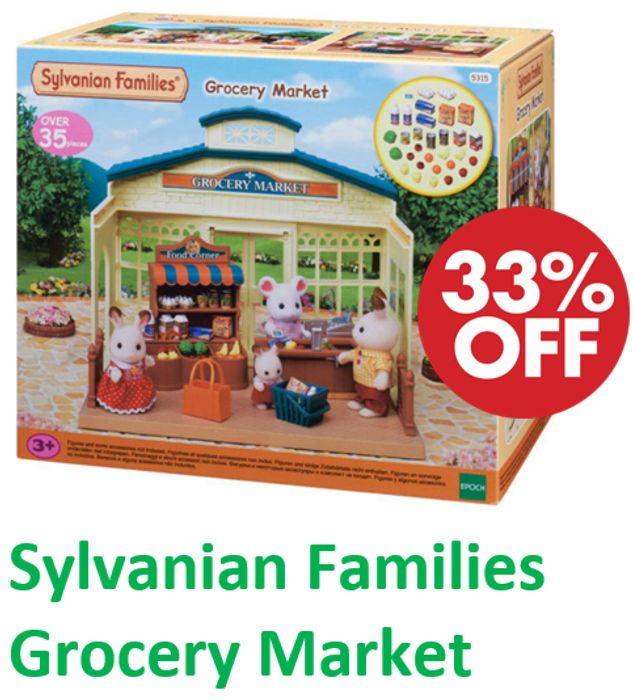 Sylvanian Families - Grocery Market