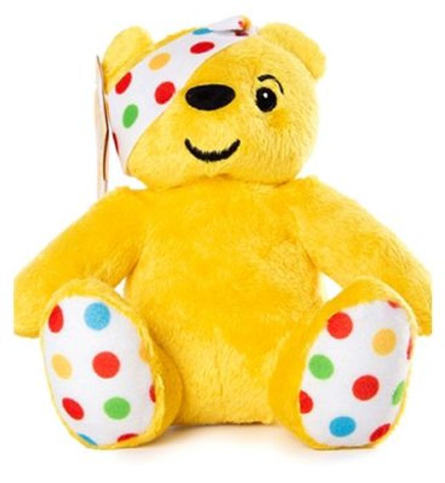 BBC Children in Need Plush Toy Pudsey Bear