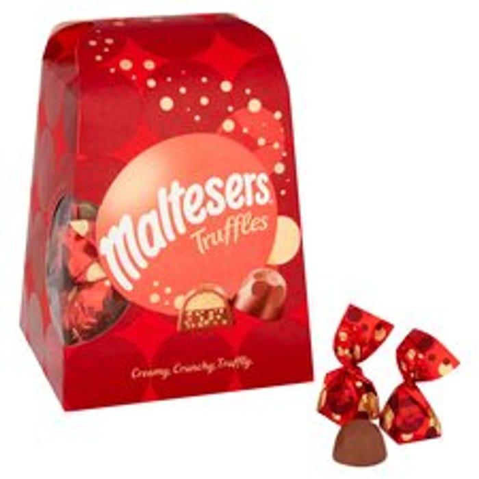 Maltesers Truffle Medium Gift Box 200G/Maltesers White Truffles 200G
